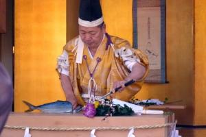 千倉高家神社庖丁式
