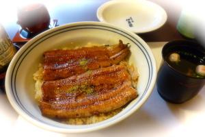 伊豆榮梅川亭の鰻丼