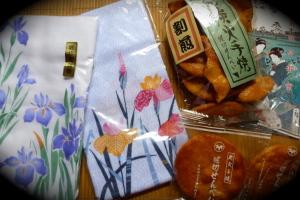 堀切菖蒲園のお土産
