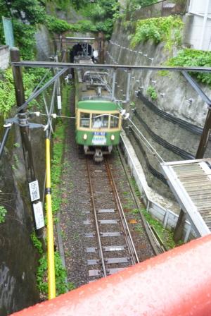 極楽寺のトンネル
