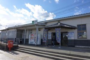 常磐線大津港駅